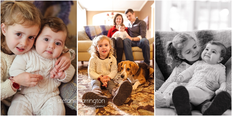 family photographer dc | in home family session